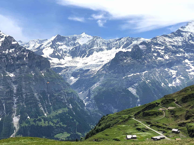 Bachalpsee Lake Alps