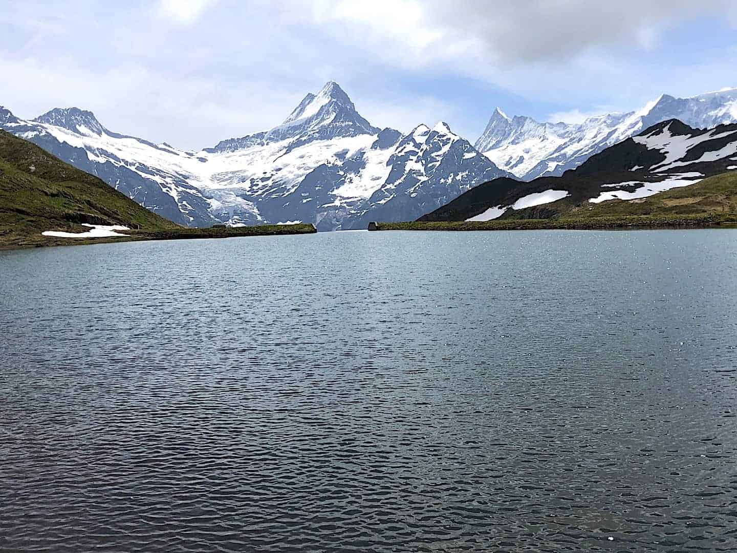 Bachalpsee Lake Eiger View
