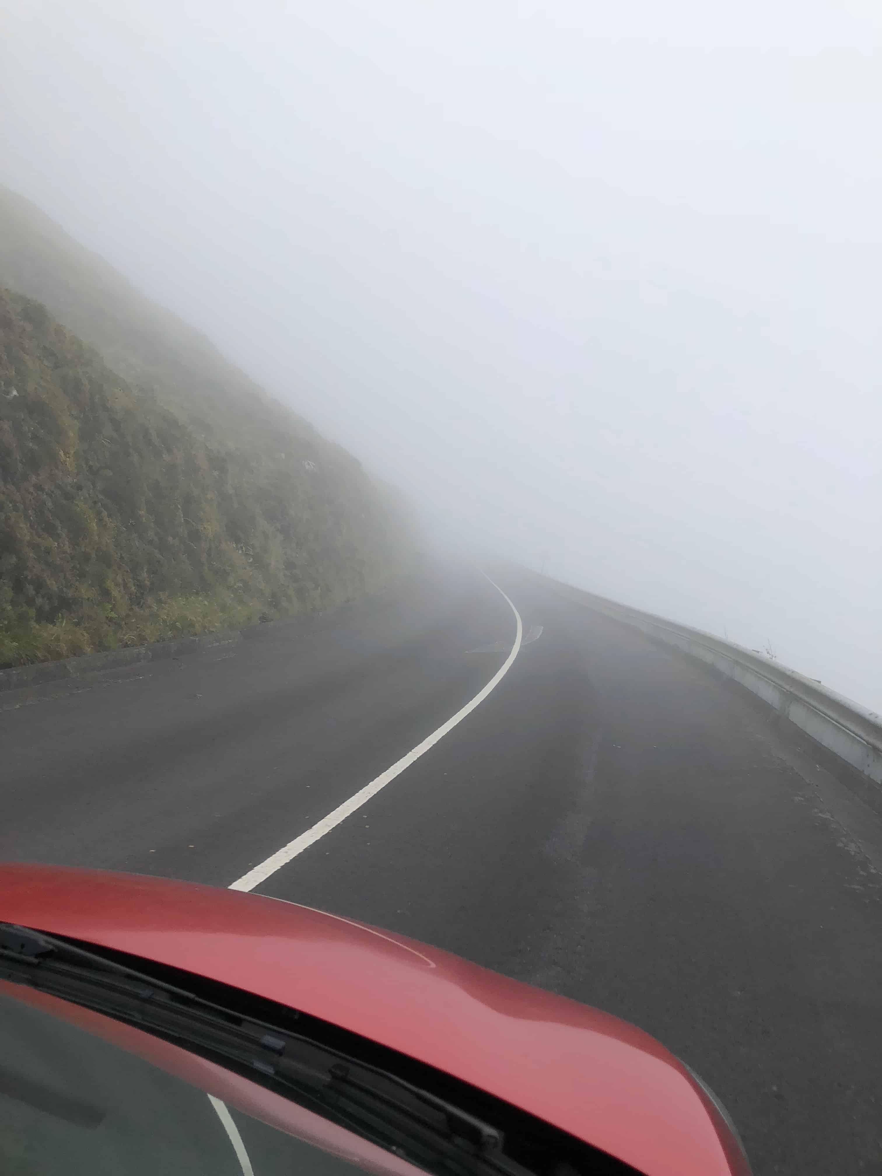 Foggy Driving Azores