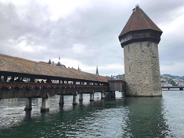 Kapellbrücke Bridge Lucerne