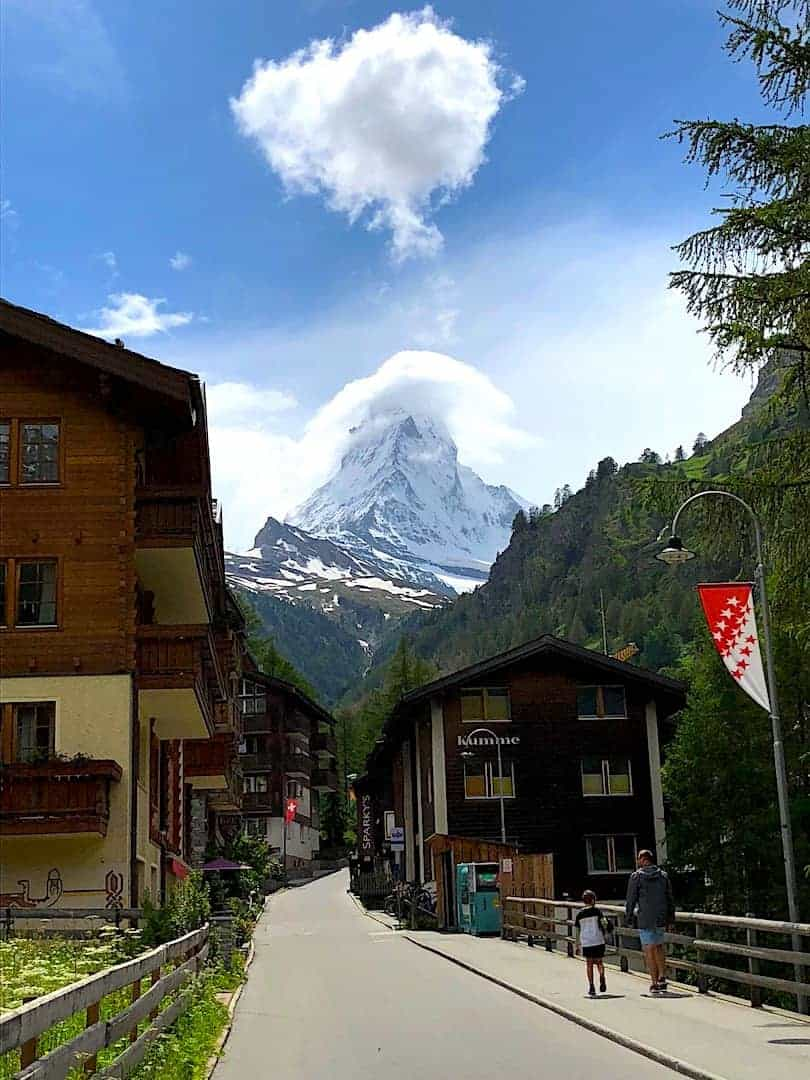 Matterhorn View Zermatt Clouds