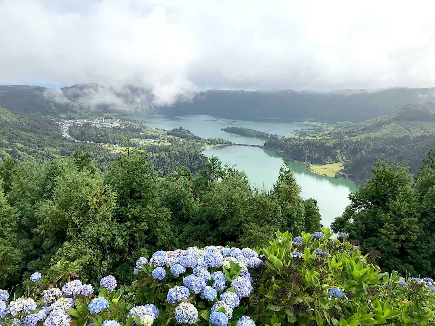 Sete Cidades Clear Weather