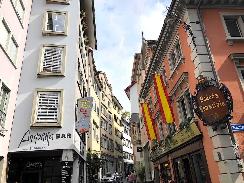 Zurich City Streets