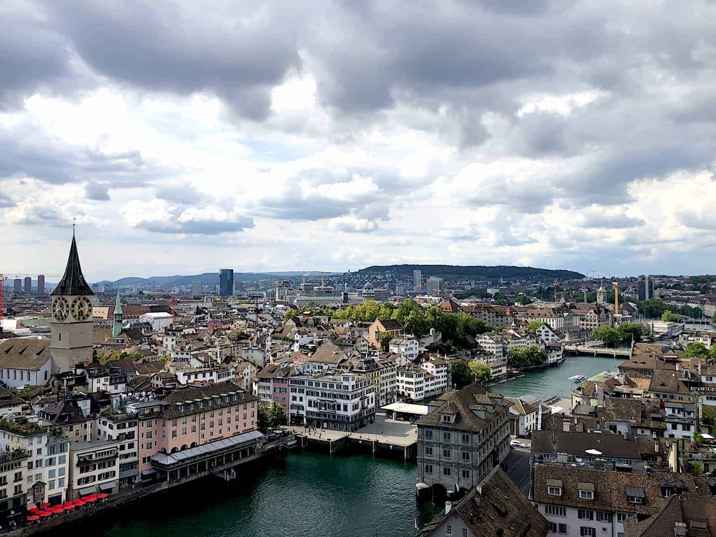 Zurich View City