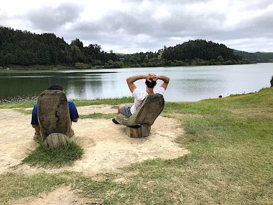 Caldeiras da Lagoa das Furnas Lake