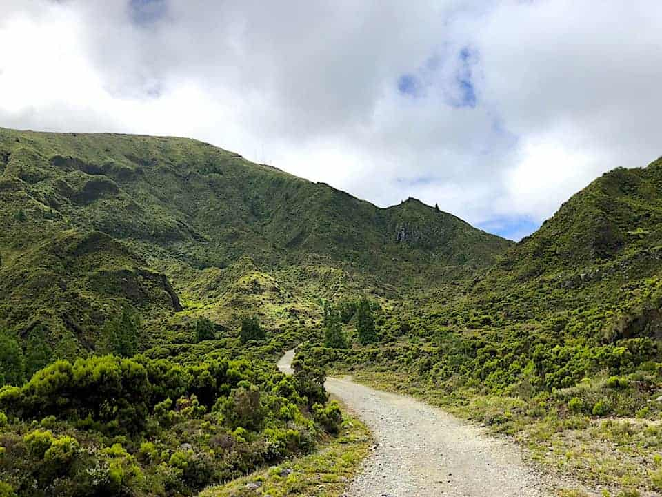 Lagoa do Fogo Hike Greenery