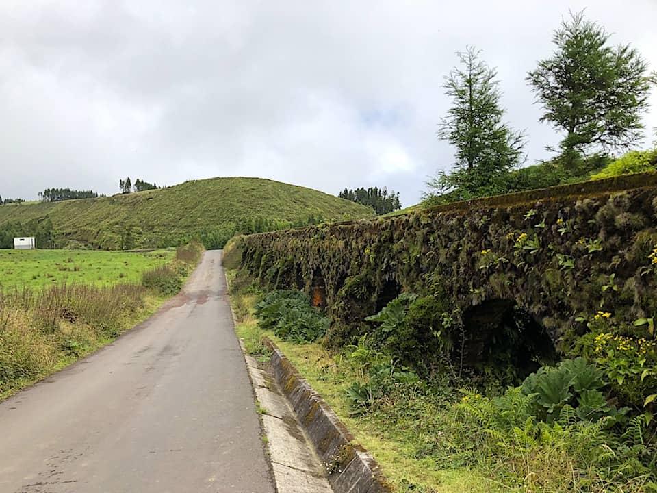 Mata do Canario Sete Cidades Hike Aqueduct