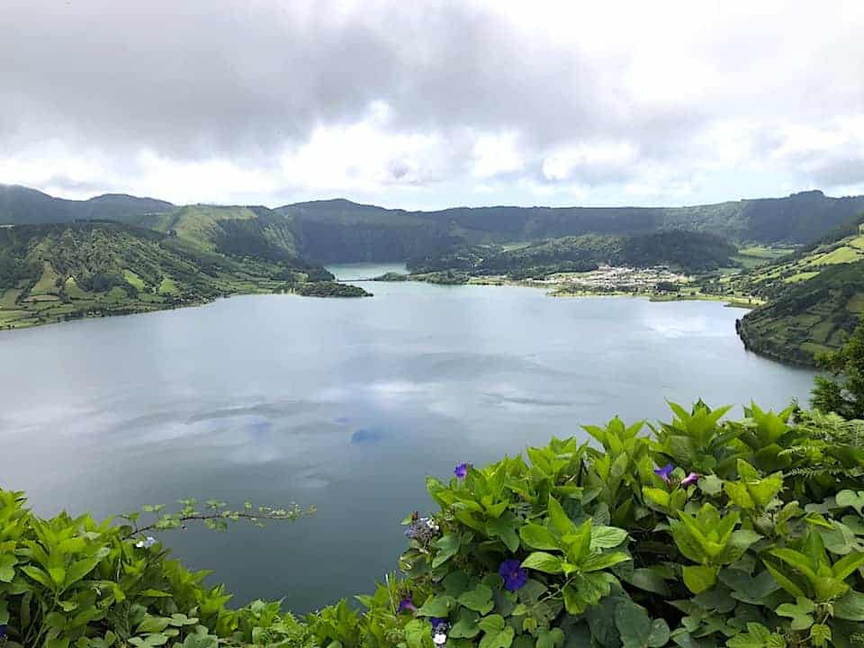 Mata do Canario Sete Cidades Hike Lakes View