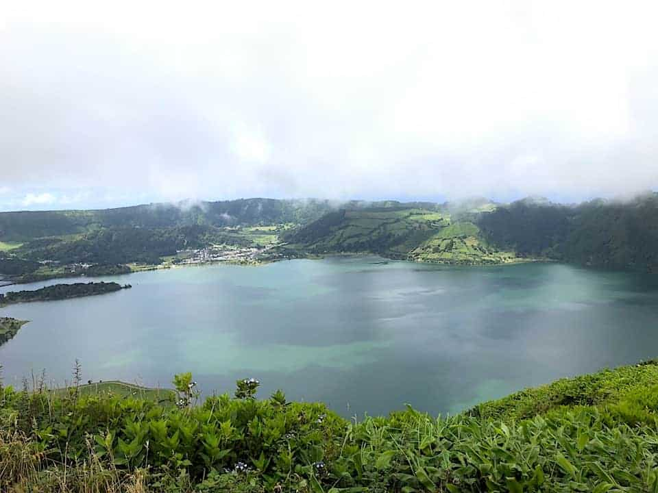 Mata do Canario Sete Cidades Hike Views