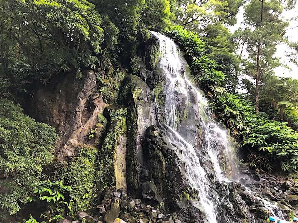 Parque Natural da Ribeira dos Caldeirões Waterfall