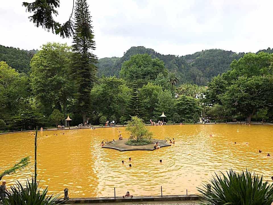 Parque Terra Nostra Baths