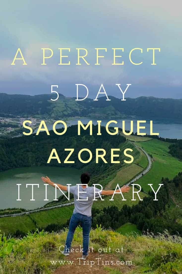 Sao Miguel Azores Itinerary