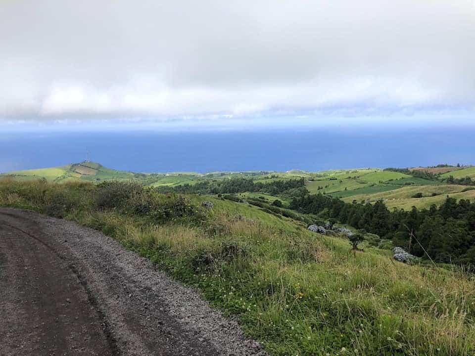Sete Cidades Hike Ocean