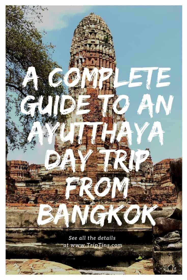 Bangkok to Ayutthaya Day Trip