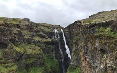 Glymur Waterfall View Hike