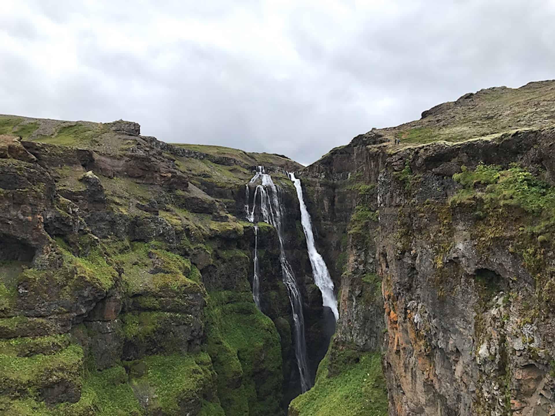 The Glymur Waterfall Hike