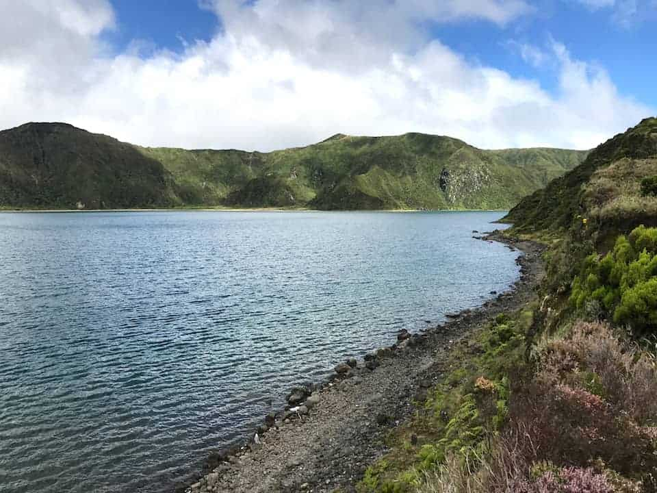 Lagoa do Fogo Hike Waterfront