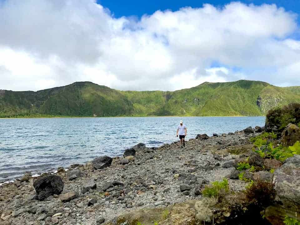 Lagoa do Fogo Lakeside