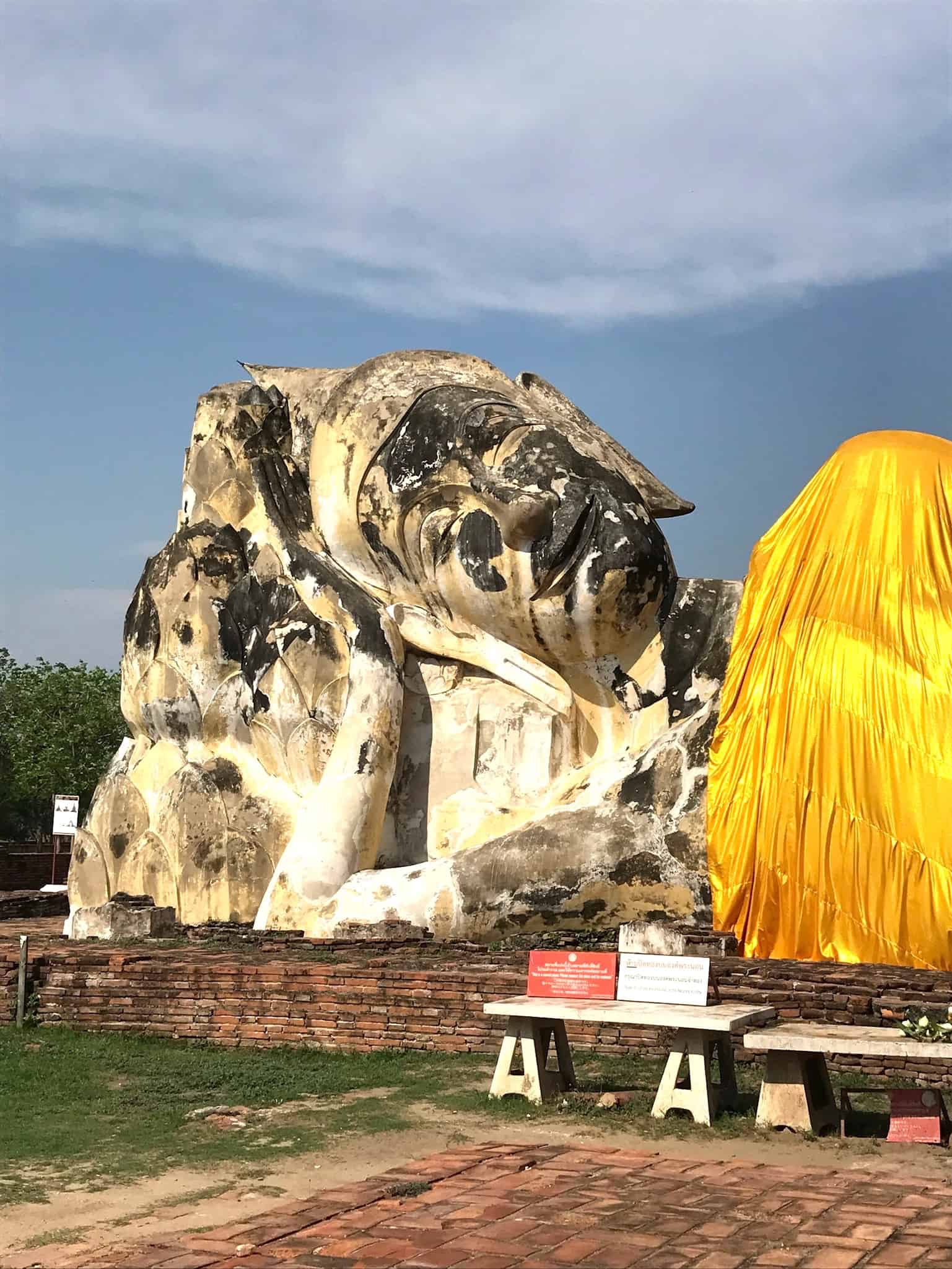 Wat Lokkayasutharam Buddha Head