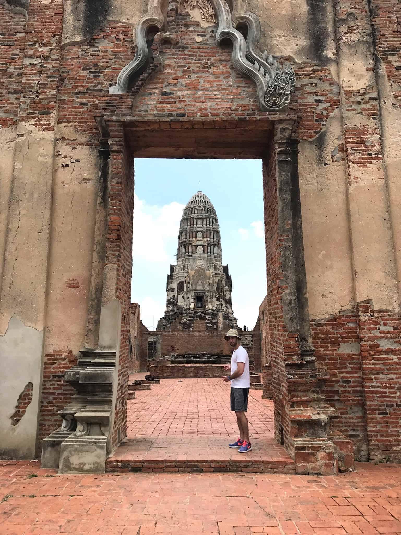 Wat Ratburana Entrance