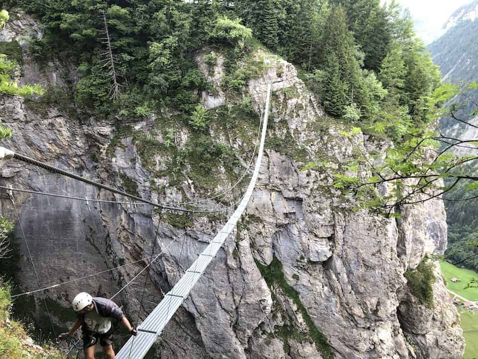 Murren Suspension Bridge