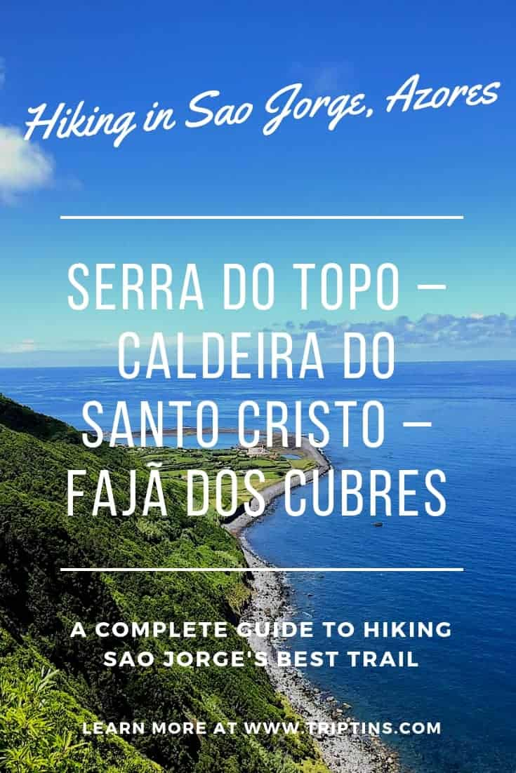 Sao Jorge Azores Hiking