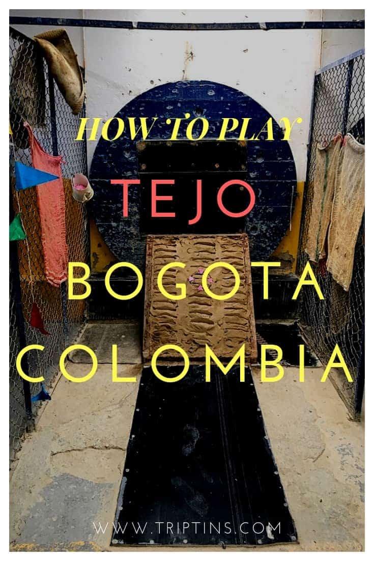 Tejo in Bogota