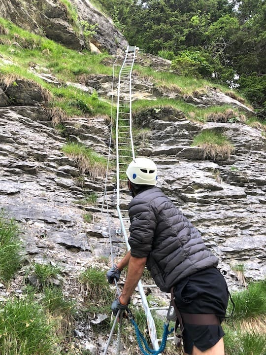 Via Ferrata Ladder