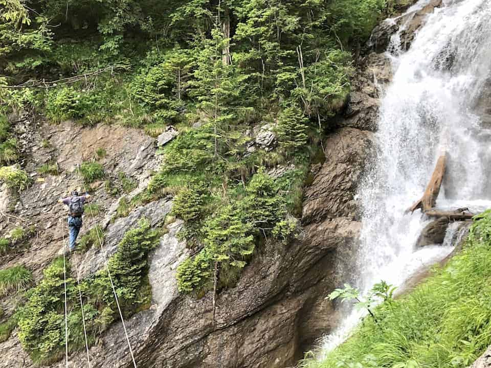Via Ferrata Murren Waterfall