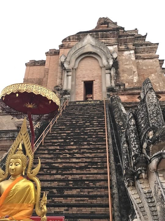 Wat Chedi Luang Outside