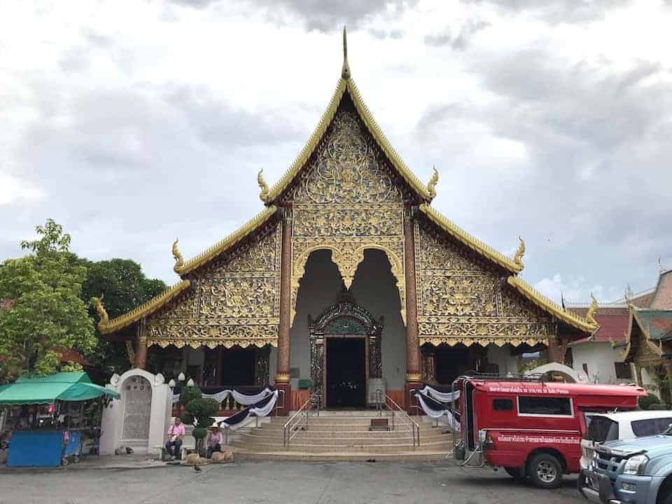 Wat Chiang Man Entrance