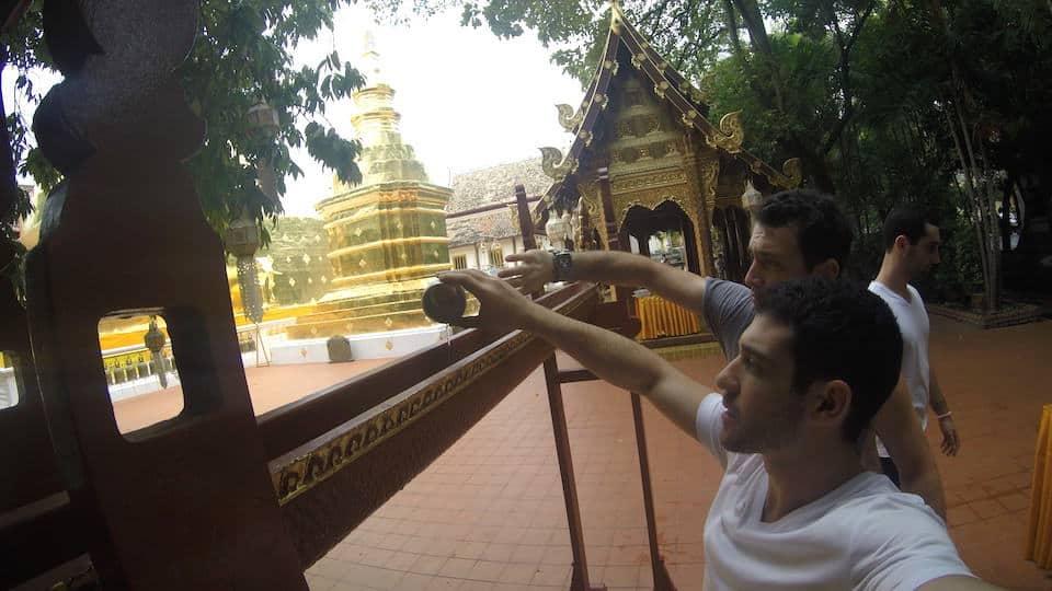 Wat Phra Singh Water