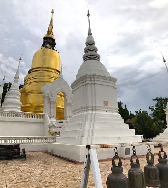 Wat Suan Dok Gold Chedi