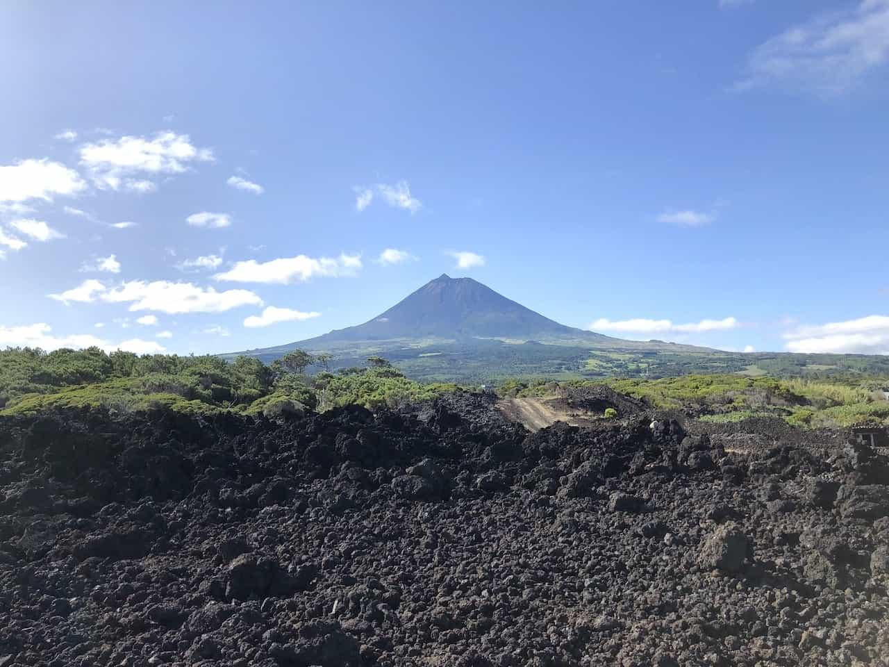 Mount Pico Azores