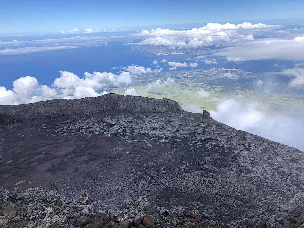 Mount Pico Crater View