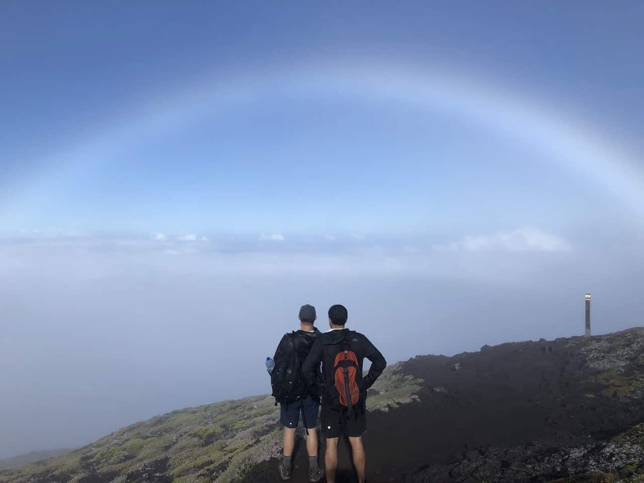 Mount Pico Rainbow