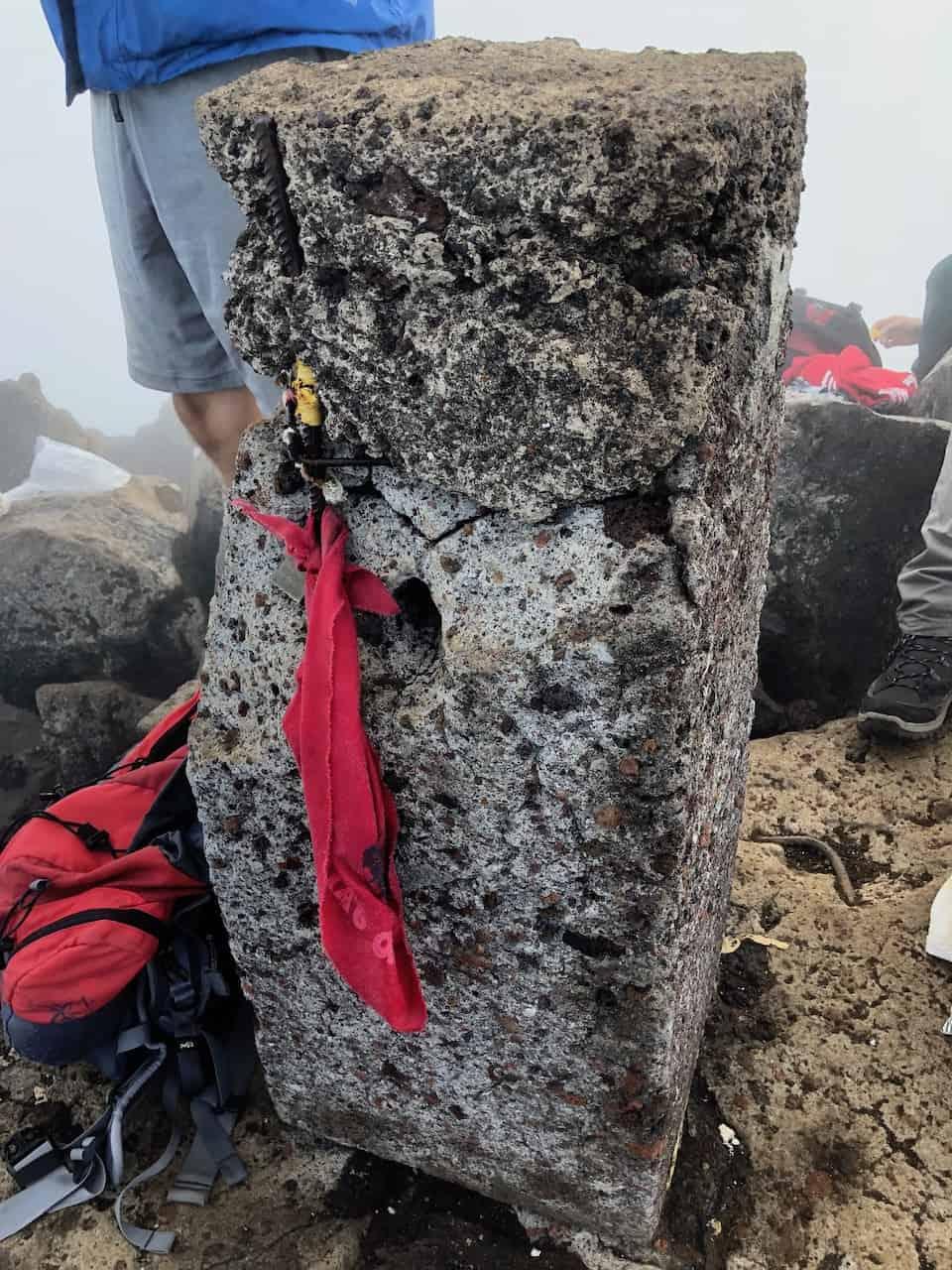 Mount Pico Top