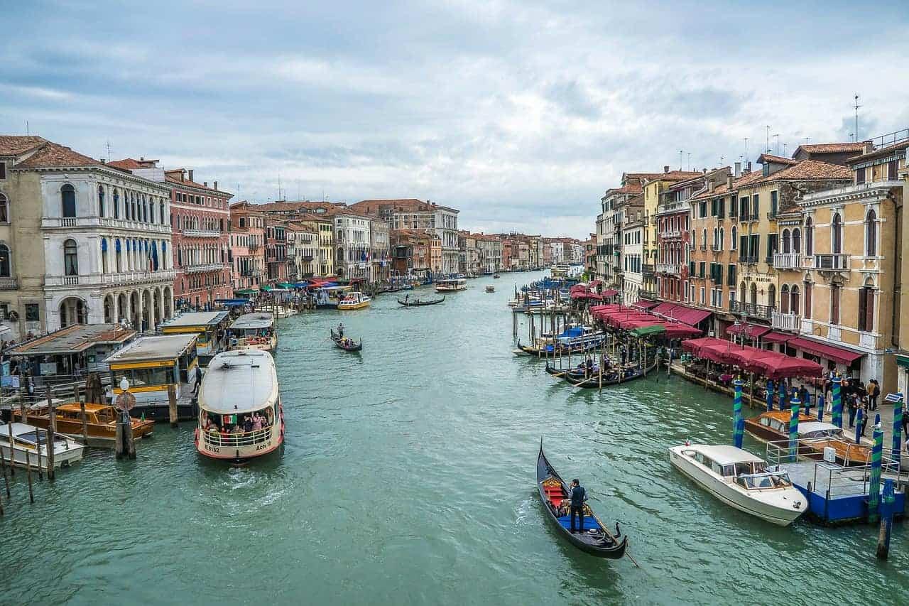Venice Waterbus Canal