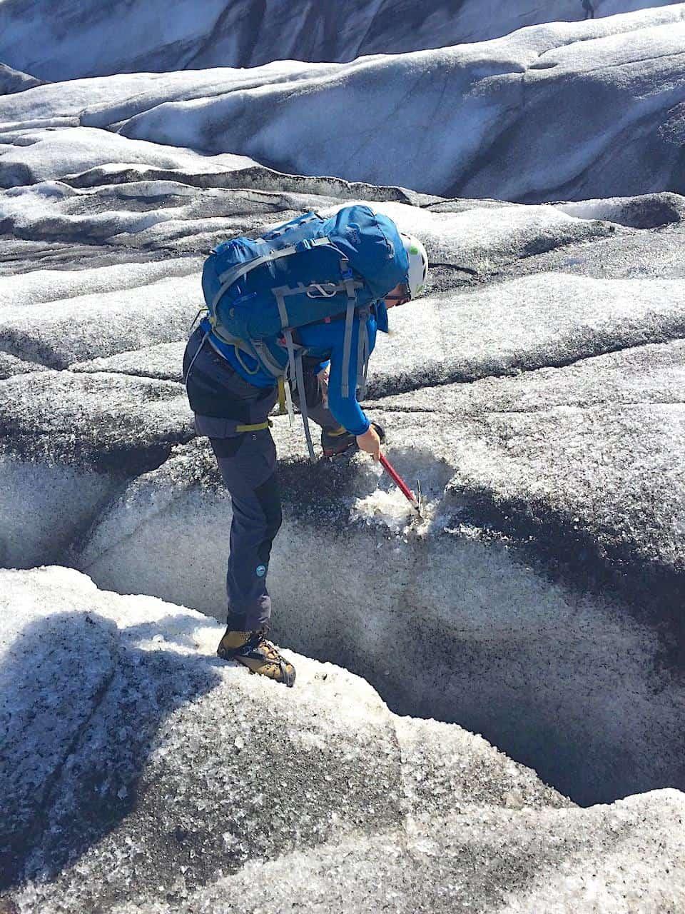 Iceland Skaftafell Ice Axe