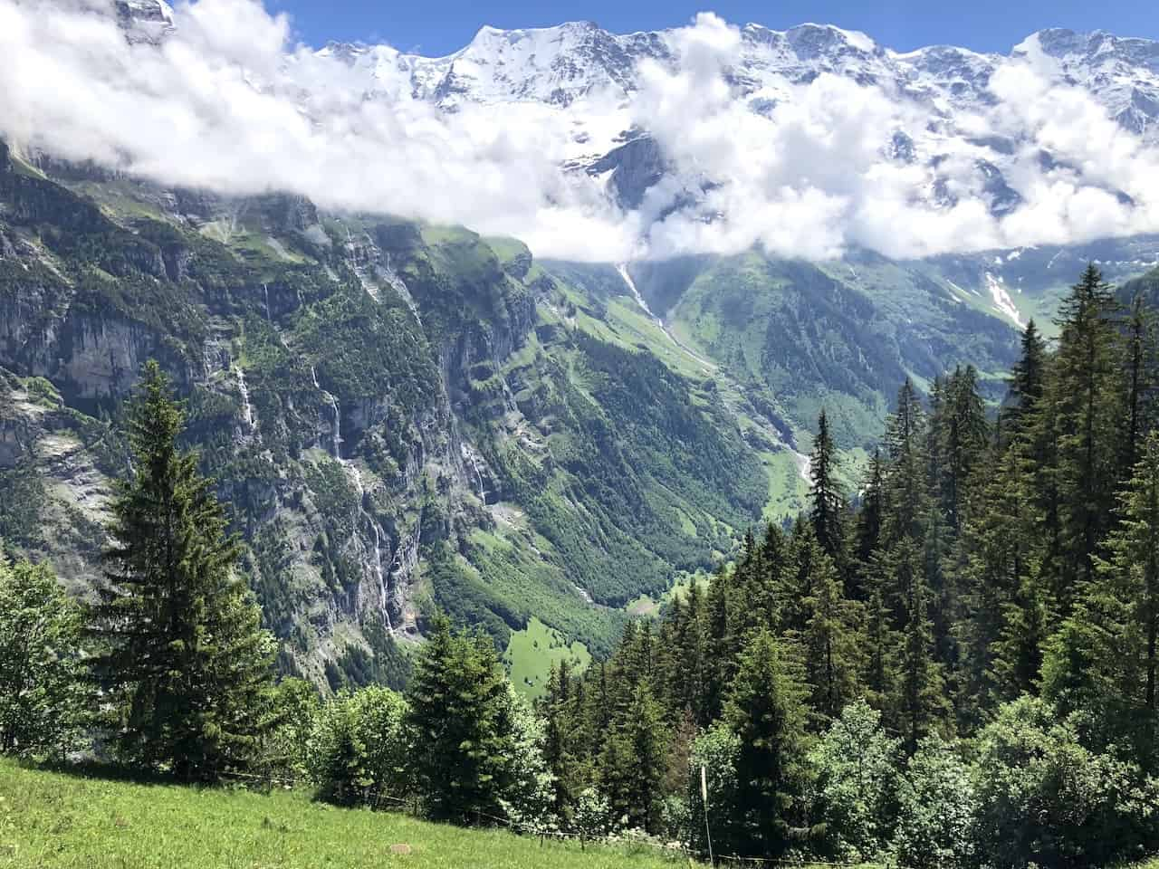 Lauterbrunnen Valley Views