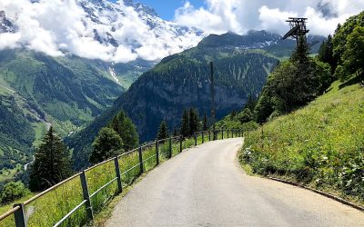 Murren to Gimmelwald Trail