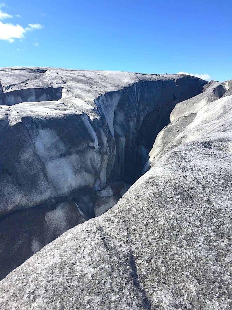 Skaftafell Glacier Crevasse