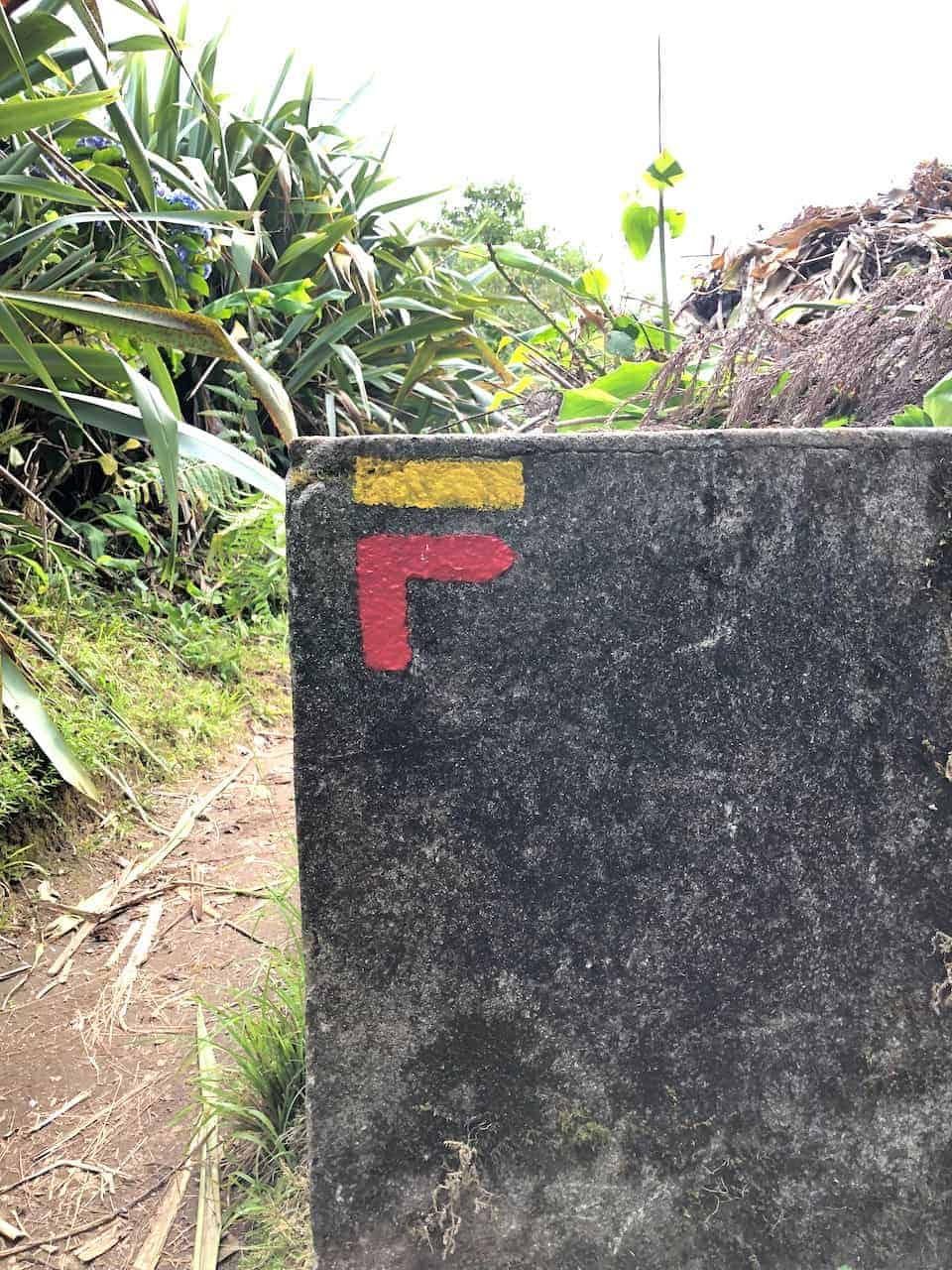 Azores Trails Right Turn
