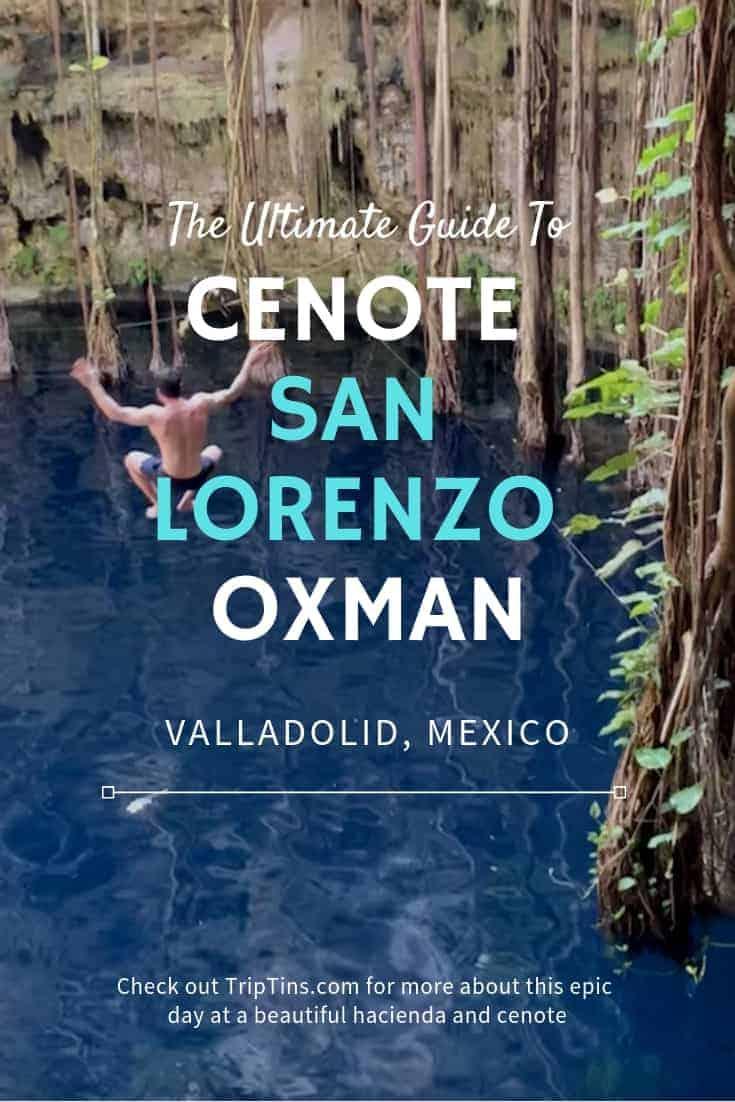 Cenote Oxman San Lorenzo