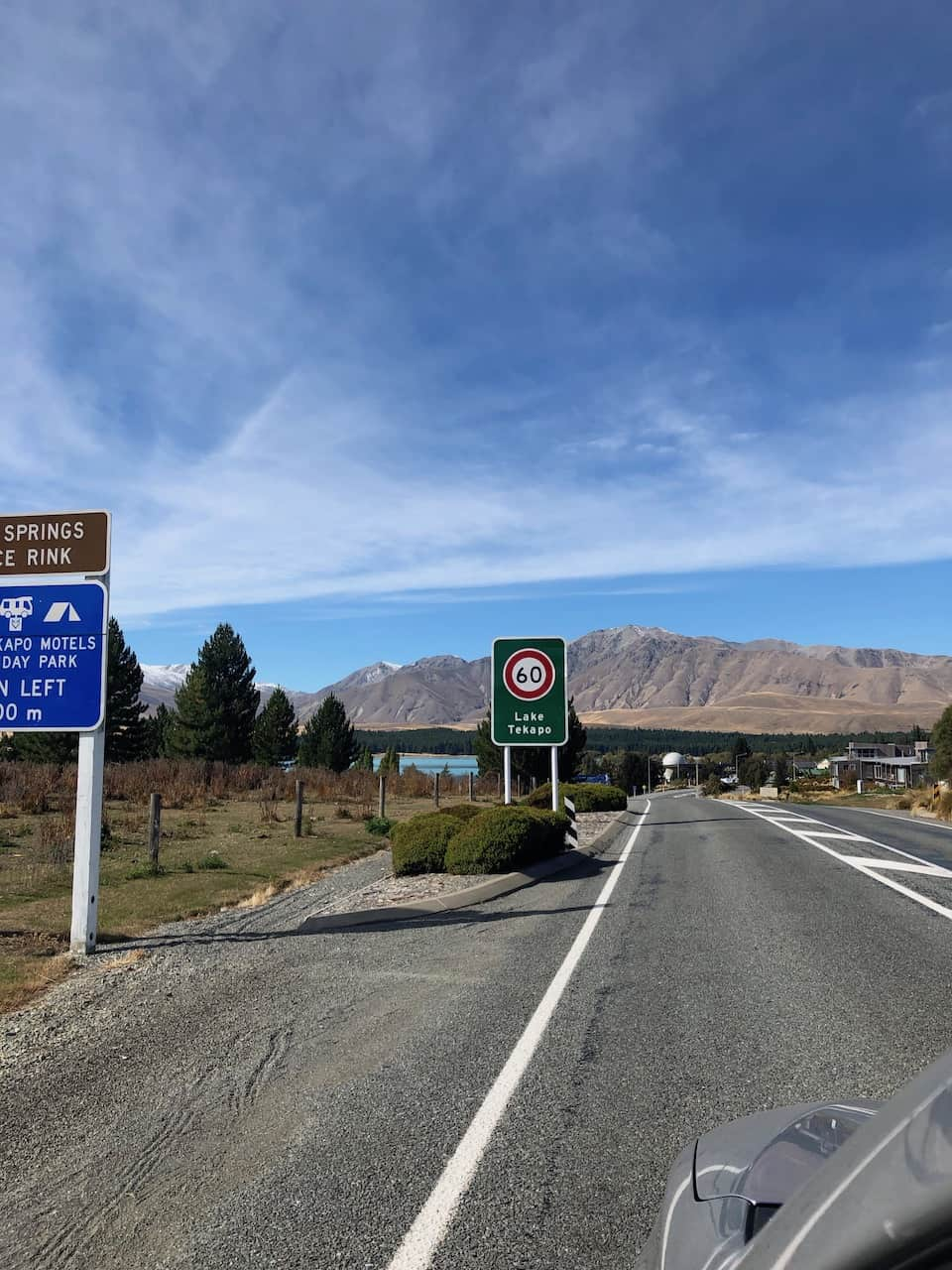 Town Speed Limits New Zealand