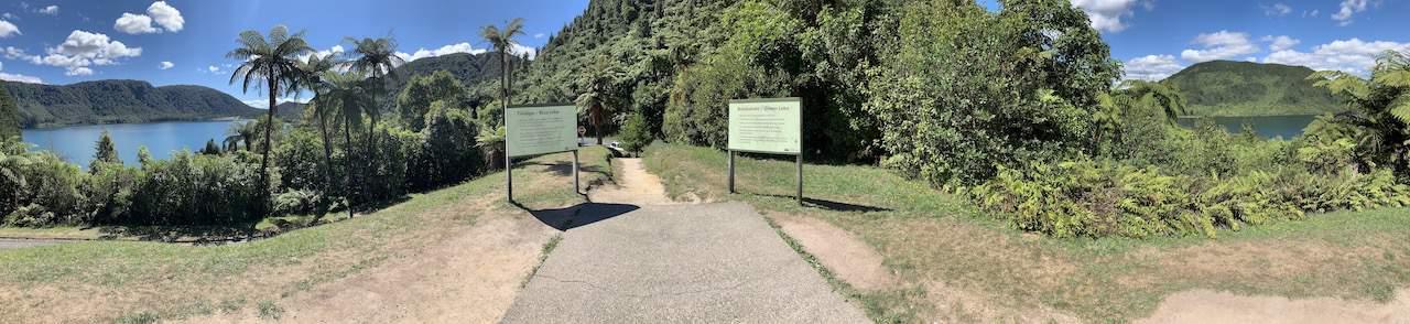 Blue Green Lakes Rotorua