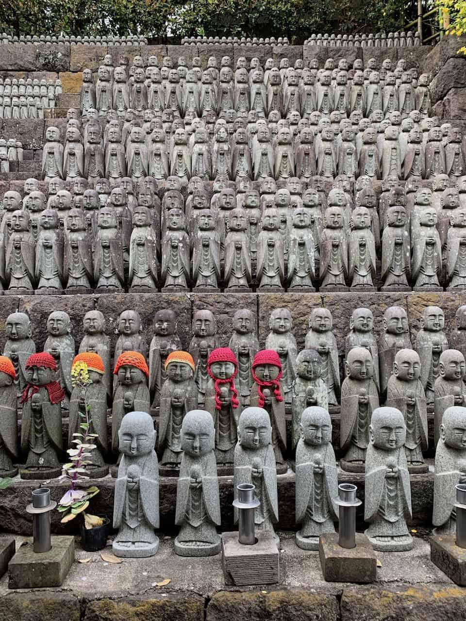 Hasedera Temple Buddhas