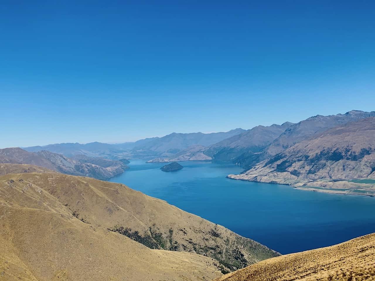 Isthmus Peak Lake Wanaka