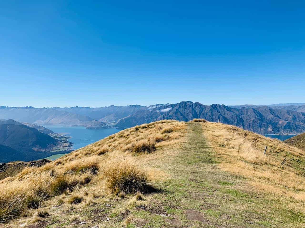 Isthmus Peak Summit Hawea