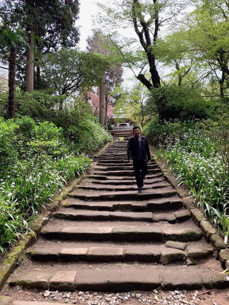 Jochi-ji Temple Stairs